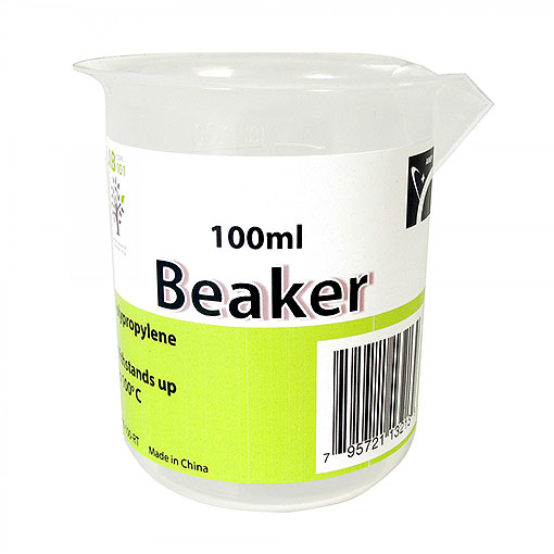 PLASTIC BEAKER, 100ML