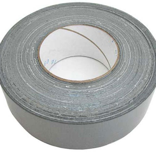"2""WIDE X 60 YDS GREY DUCT TAPE"