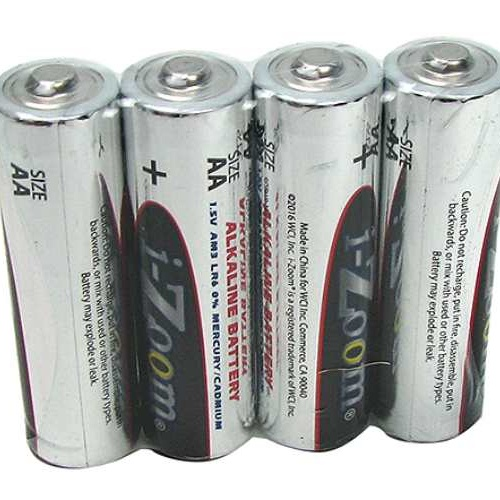 "4-PACK ""AA"" ALKALINE BATTERIES"