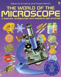 THE WORLD ... MICROSCOPE BOOK