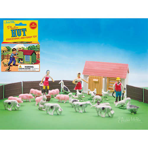 LITTLE PLASTIC FARM SET
