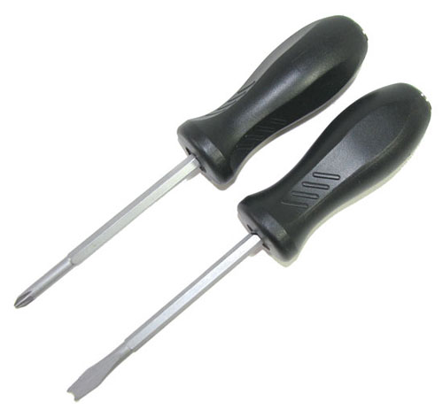 SET OF DAMAGED-SCREW REMOVERS