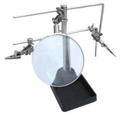 HELPING HAND WORK STAND WITH MAGNIFIER