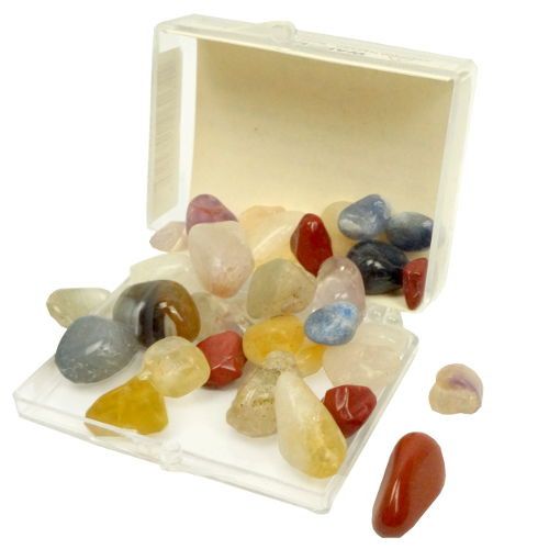 BRIGHTLY COLORED POLISHED GEMSTONES