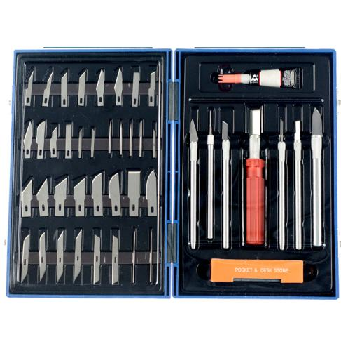 48 PIECE HOBBY KNIFE SET