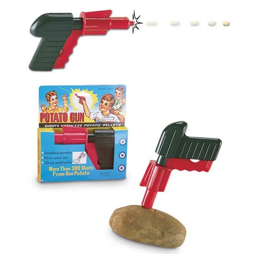PISTOL SHAPED POTATO GUN