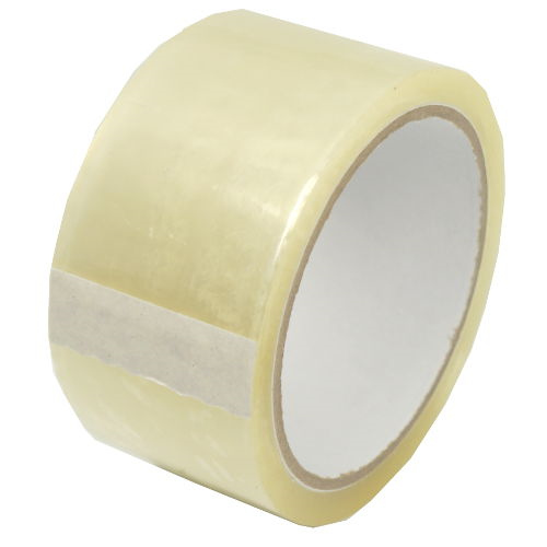 "CLEAR CARTON SEAL TAPE 2"" X 55 YDS"