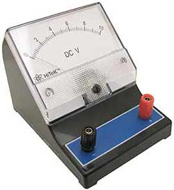 ANALOG VOLTMETER WITH ZERO ADJUST