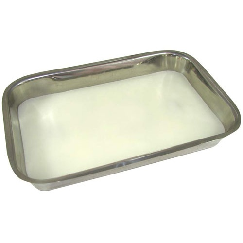 ALUMINUM DISSECTION TRAY WITH WHITE WAX