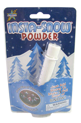 INSTANT SNOW JUST-ADD-WATER