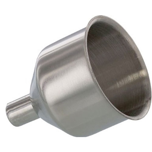 SMALL STAINLESS STEEL KITCHEN FUNNEL