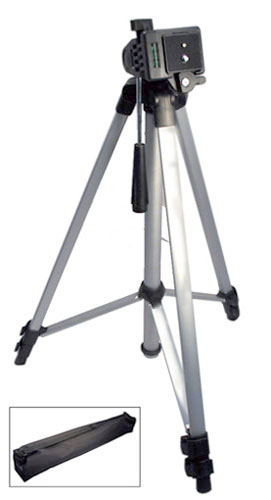 EXTENDING TRIPOD WITH CARRYING CASE