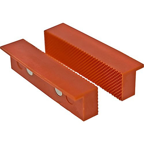 PAIR OF RUBBERIZED MAGNETIC VISE PADS