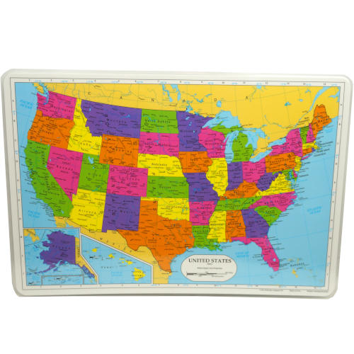 US MAP PLACEMAT
