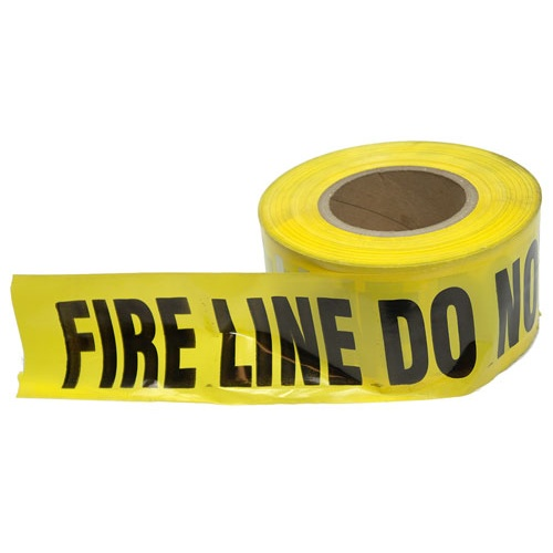 FIRE LINE BARRICADE TAPE (1000 FT)