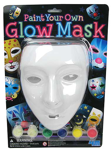 PAINTABLE FACE MASK