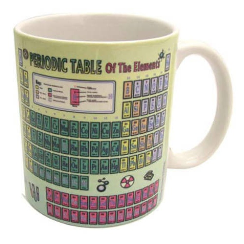 PERIODIC CHART COFFEE CUP