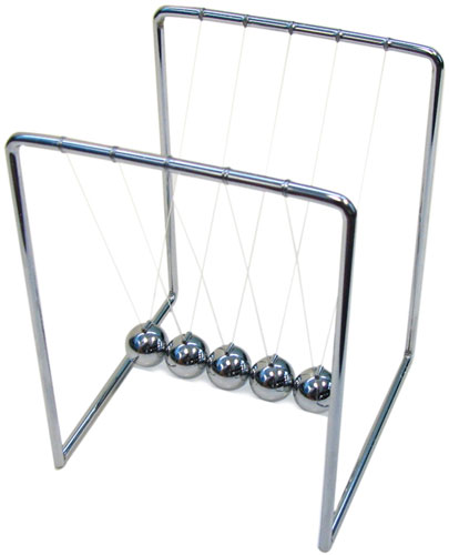 NEWTON'S CRADLE, SMALL