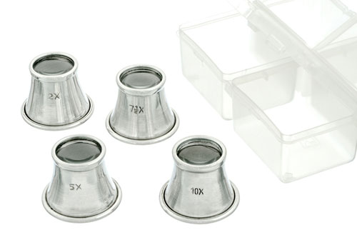 4 PIECE LOUPE SET