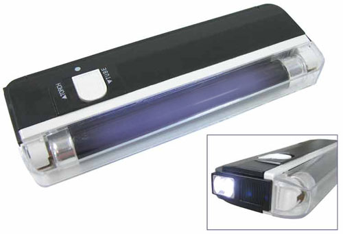 BATTERY OPERATED HANDHELD PORTABLE BLACKLIGHT