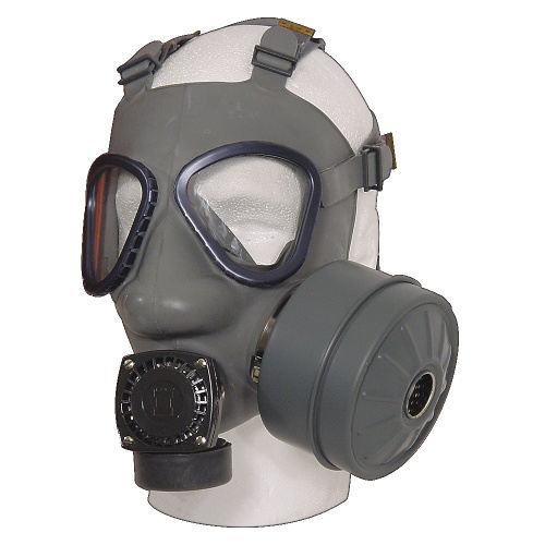 FINNISH MILITARY ISSUE SIDE MOUNT GAS MASK