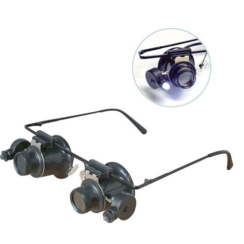 LED MAGNIFYING EYEGLASSES