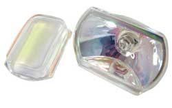 AUTO HALOGEN LAMP WITH SEPARATE LENS & BULB