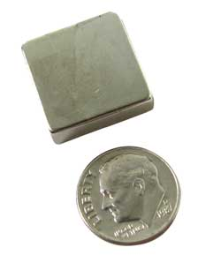 8-LB PULL NICKEL PLATED MAGNET