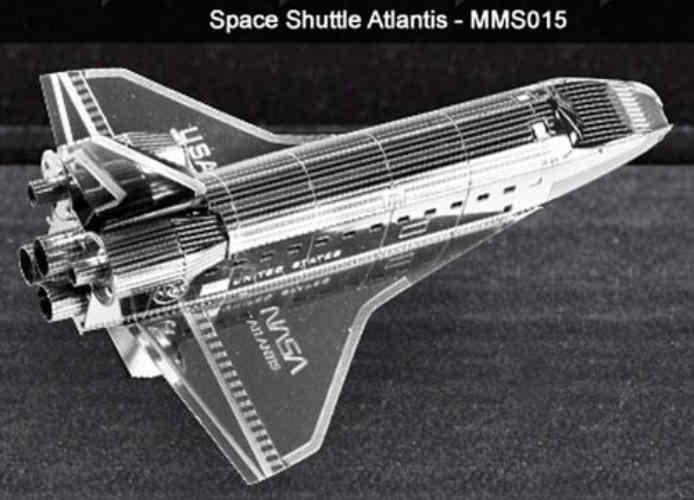 METALWORKS SPACE SHUTTLE MODEL
