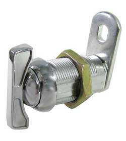 ATTRACTIVE CHROMED CABINET LATCH