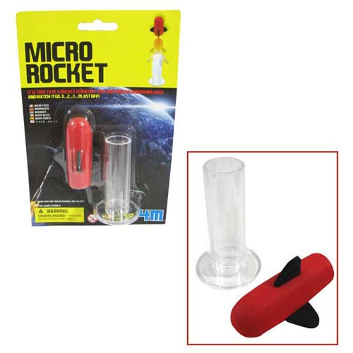 SODA/VINEGAR POWERED MICRO ROCKET