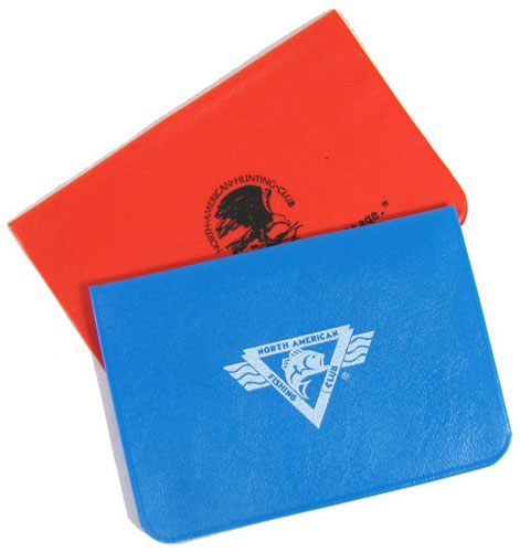 PLASTIC CARD OR LICENSE POUCHES