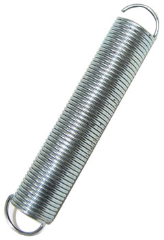 "2-1/4"" LONG STEEL EXTENSION SPRING"