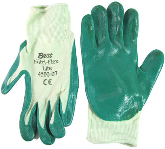 SMALL NITRILE-COATED GLOVES