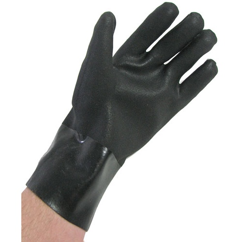 FLANNEL-LINED RUBBER GLOVES