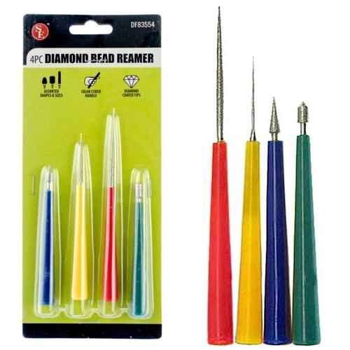 DIAMOND-COATED BEAD REAMERS