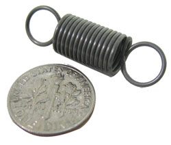 SMALL STEEL EXTENSION SPRINGS
