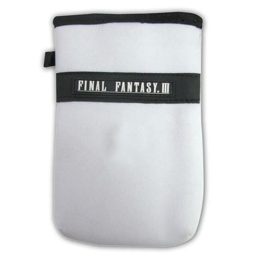WHITE NYLON NINTENDO DS™ POUCH