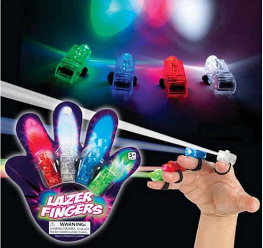 LED FIBER OPTIC FINGERS