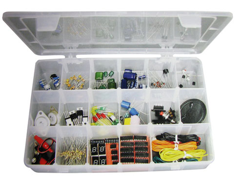 ELENCO® ELECTRONICS COMPONENT KIT WITH CASE