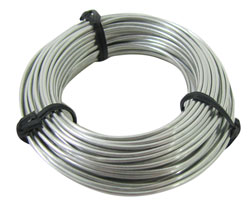 20-GAUGE UNCOATED STEEL WIRE