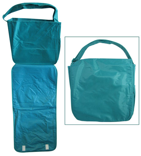 TEAL DIAPER CHANGING BAG