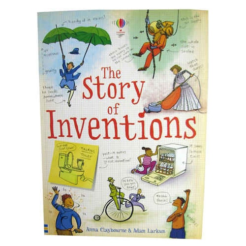 STORY OF INVENTIONS BOOK