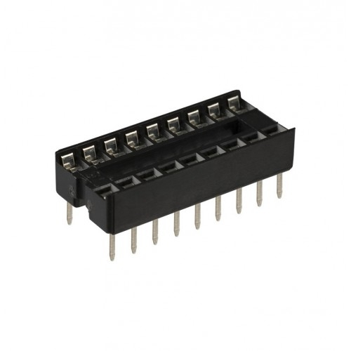 SOCKET, IC, 16-PIN, SOLDER TYPE          (BP)