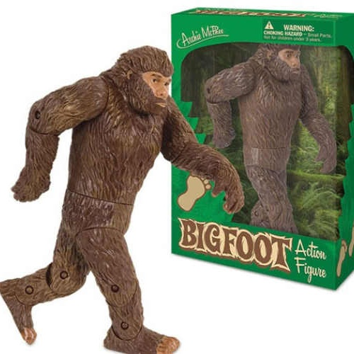 ARTICULATED BIGFOOT DOLL