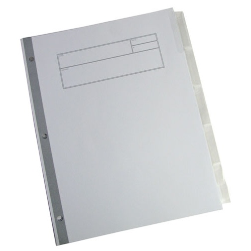 "8-1/2"" X 11"" INDEX DIVIDERS"