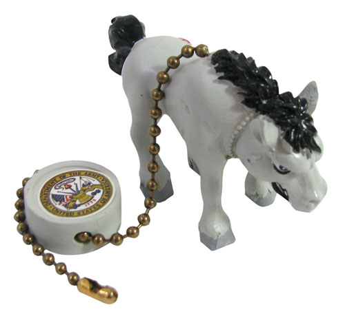 US ARMY MULE PULL CHAIN