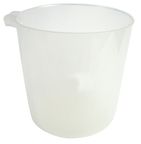 PLASTIC GRADUATED LAB MEASURING CUP