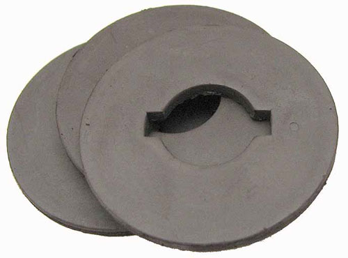 "1-11/16"" dia x 1/8"" thick Rubber Magnets"