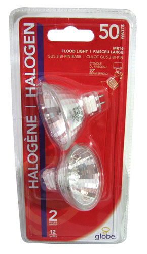 50W HALOGEN BULBS